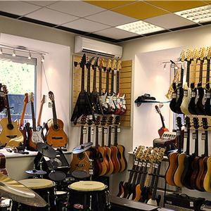 Музыкальные магазины Майны
